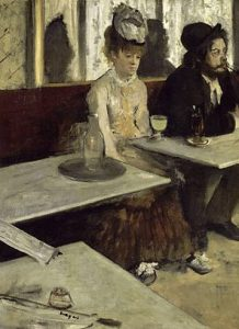 Famous Absinthe painting by Degas