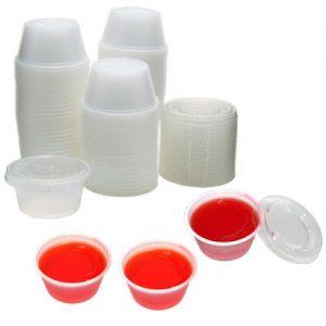 plastic jello shot cups with lids