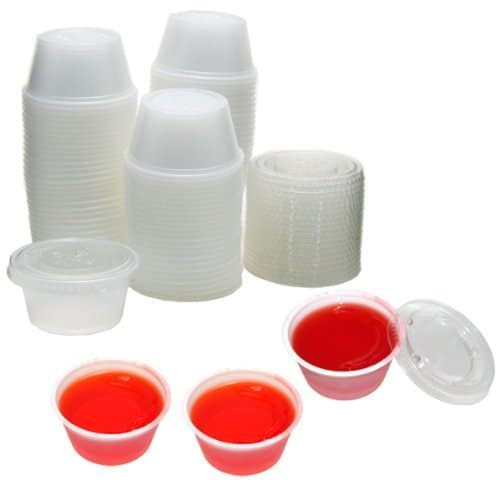 plastic jello shot cups with lids