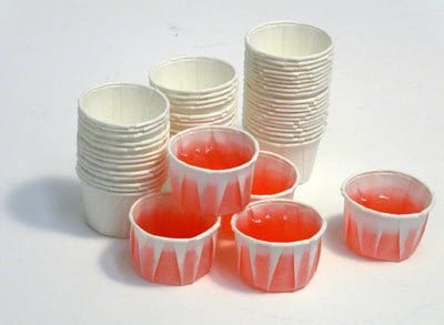 paper jello shot cups