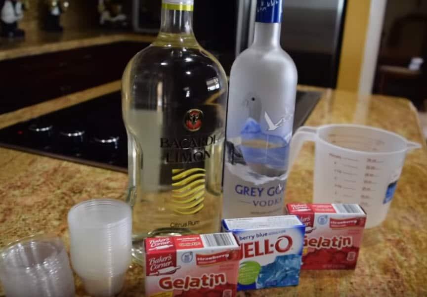jello shot ingredients