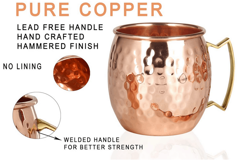 moscow mule copper set