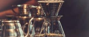 brew Chemex coffee