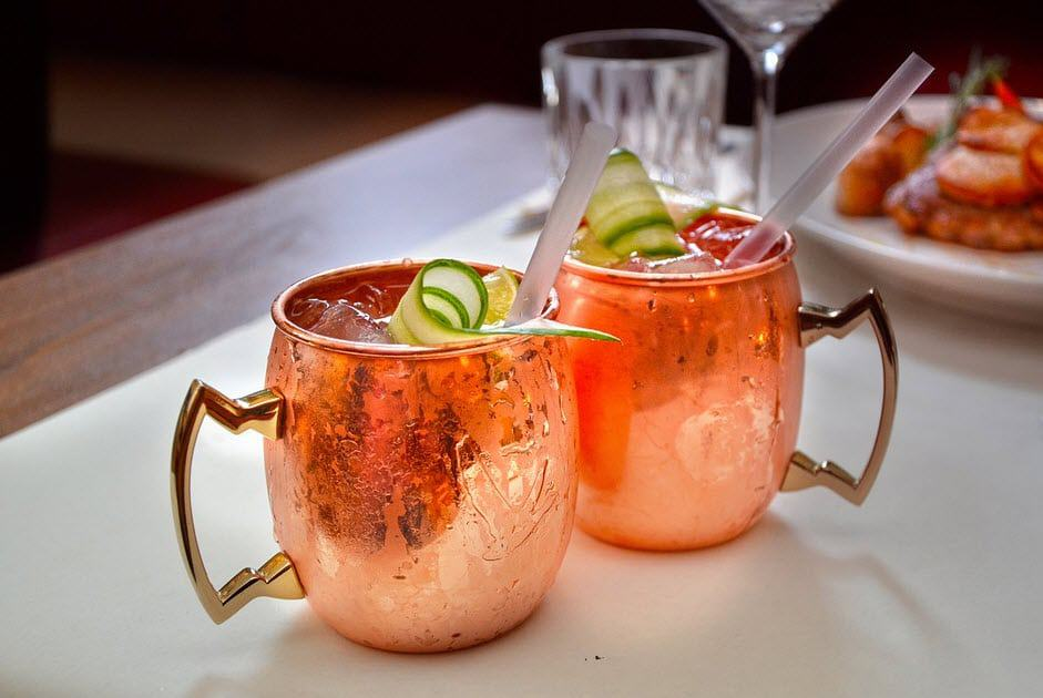 moscow mule drinks